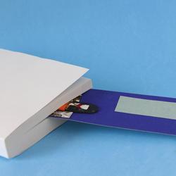 Puntos de libro a una cara 5.5x22 cm.