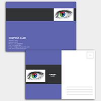 Postales personalizadas a todo color 15x10 cm.