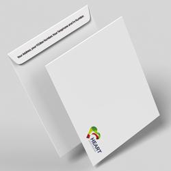 Sobres bolsa personalizados tamaño A5 a color 22.9x16.2 cm.